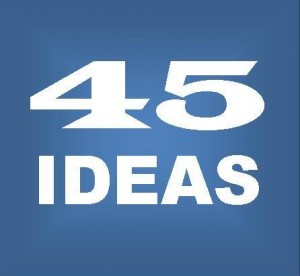 45 Ideas Logo